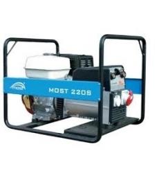 Generatoriai su suvirinimo aparatu | Suvirinimo generatorius MOST 220S | suvirink.lt