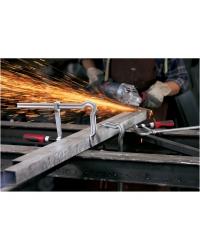 Suvirinimo spaustuvai | Spaustuvas OMEGA GMZ su dviejų komponentų plastikine rankena | suvirink.lt