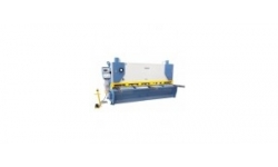 Hydraulic variable angle cutting shear